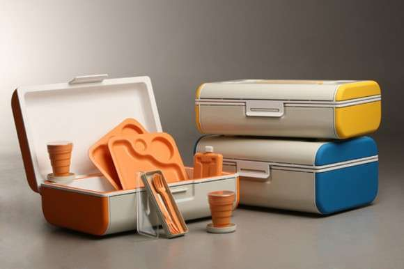 Color-Blocked Picnic Packs