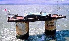Pirates To Take Over Sealand