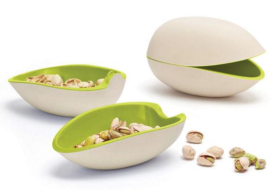 Shell-Shaped Snack Bowls