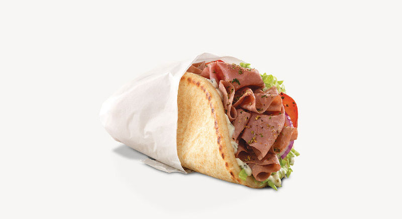 Greek-Themed Pita Sandwiches
