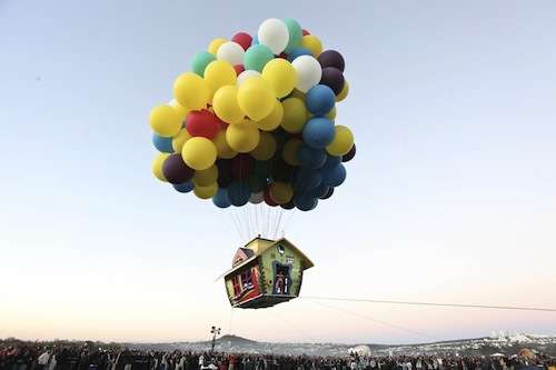 Pixar 'Up' Flying House