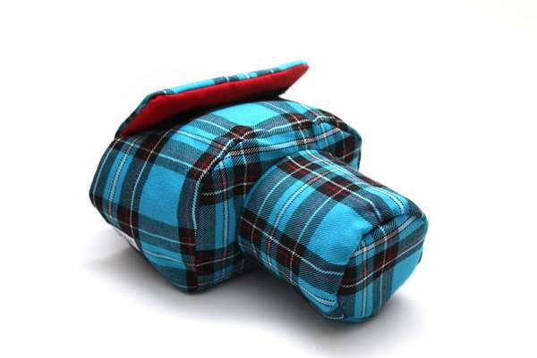 Comfy Plaid Camera Covers