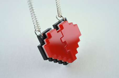 Pixelated Gamer Jewels