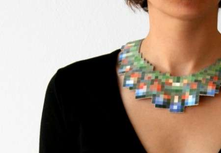 Pixelated Pilfered Jewelry
