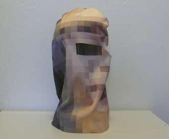 Pixelated Ski Masks