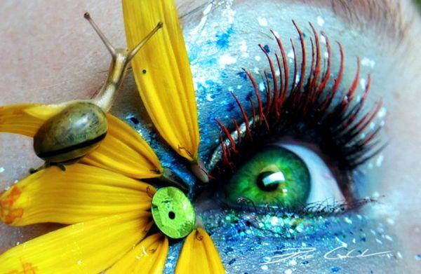 Extraordinary Organic Eyes