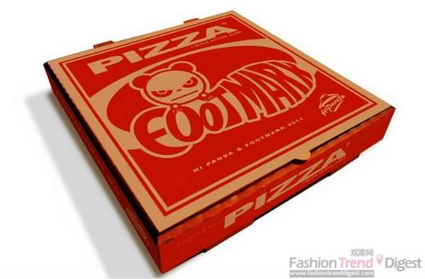 Pizza Box Branding