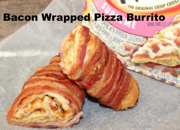 Bacon-Wrapped Burritos