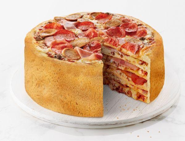 Layered Pizza Desserts