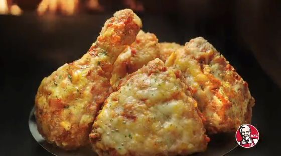 Cheesy Pizza Chicken Wings