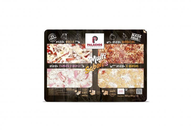 Multi-Flavor Fresh Pizzas