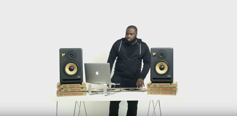 DJ Pizza Boxes