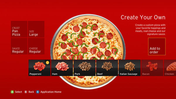 Pizza Hut Snack App