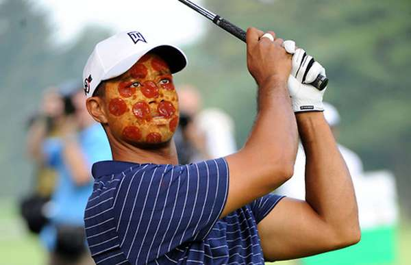 Pizza On Face