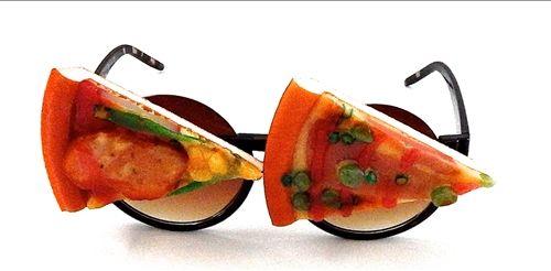 Cheesy Pizza Sunglasses