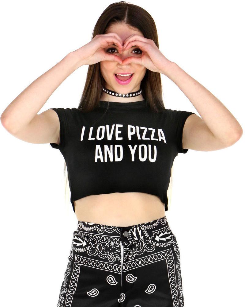 Romantic Pizza Tees