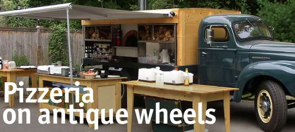 Pizzeria on Antique Wheels