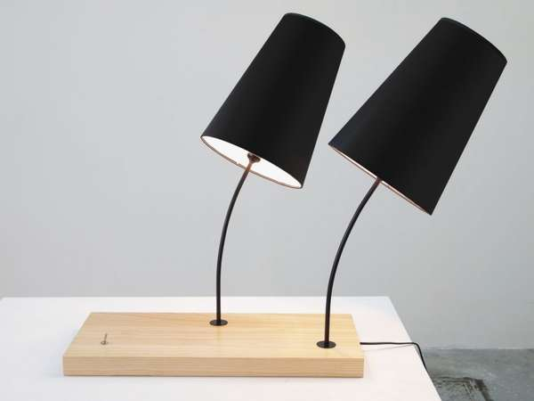 Tilting Table Lamps
