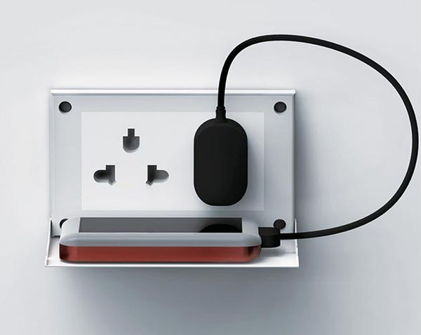 Shelf-Like Electrical Outlets