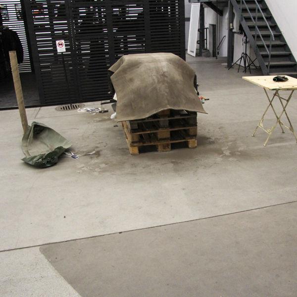 Fabric-Like Concrete Furniture