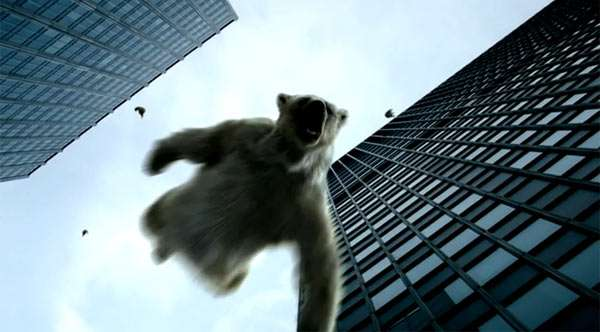 Polar Bear Shockvertising