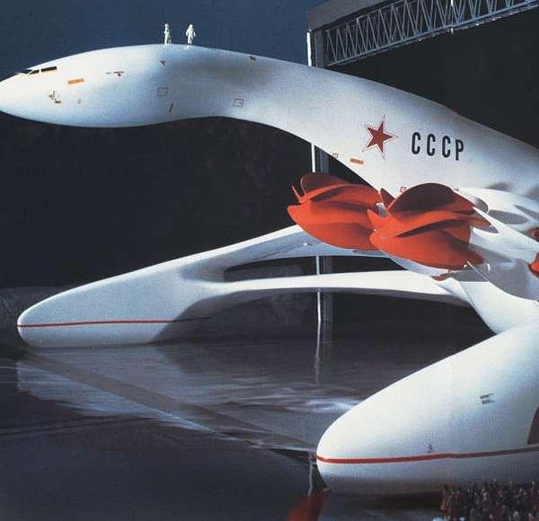 Space Pod Inspired Vehicles Luigi Colani S Futuristic