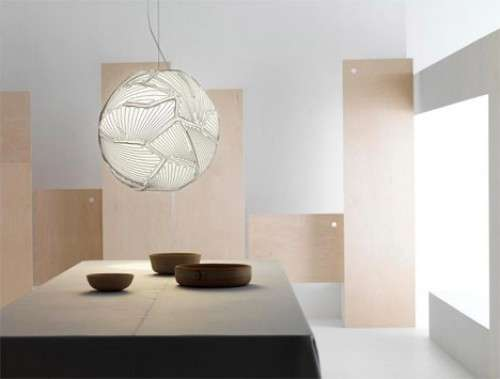 Spherical Textile Lamps