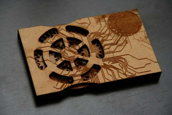 DIY Business Cards with Gears