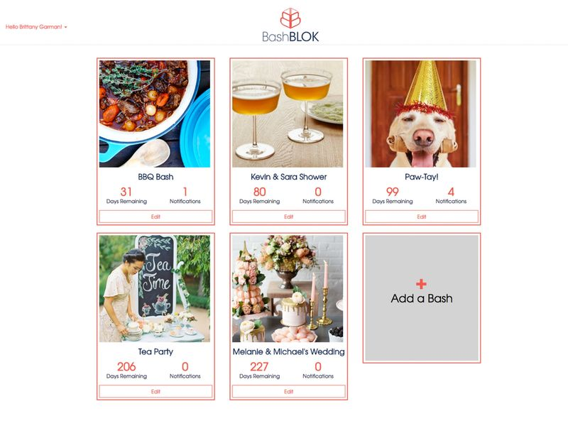 Social Event Planning Interfaces