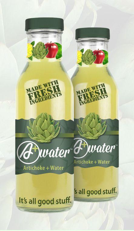artichoke water beverages plant based water. Black Bedroom Furniture Sets. Home Design Ideas