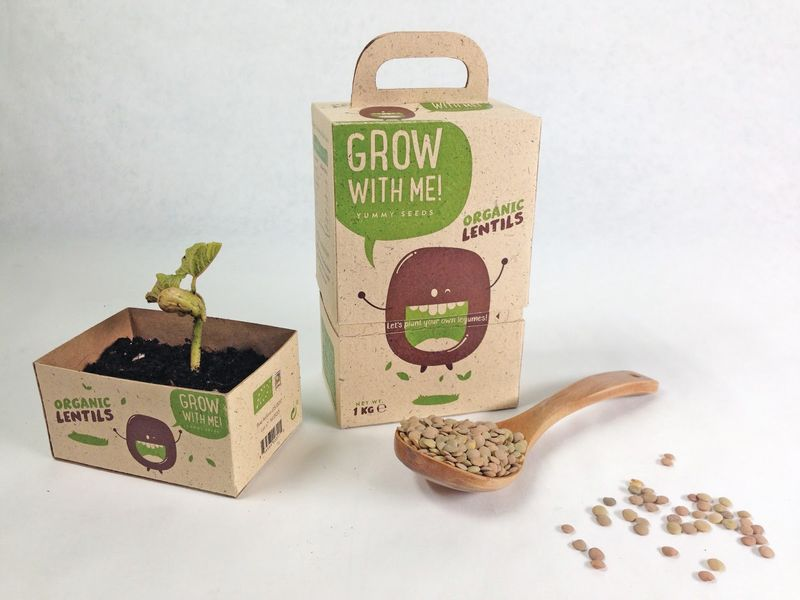 Eco Plant Packaging