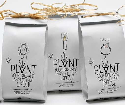 Plant Your Dreams Packaging