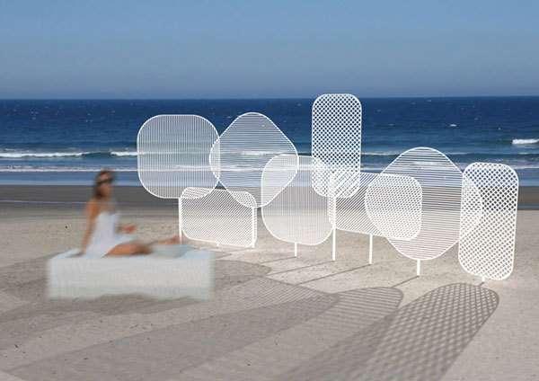 Swatter-Like Sun Screens