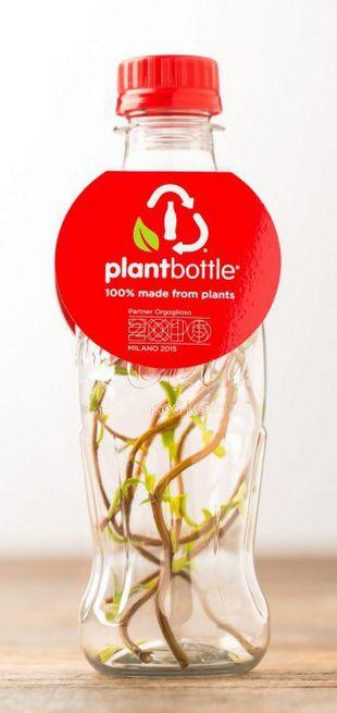 Plant-Based Soda Bottles