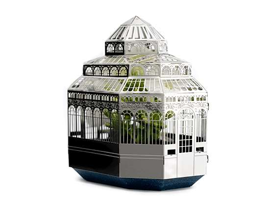 Victorian Hothouse Planters