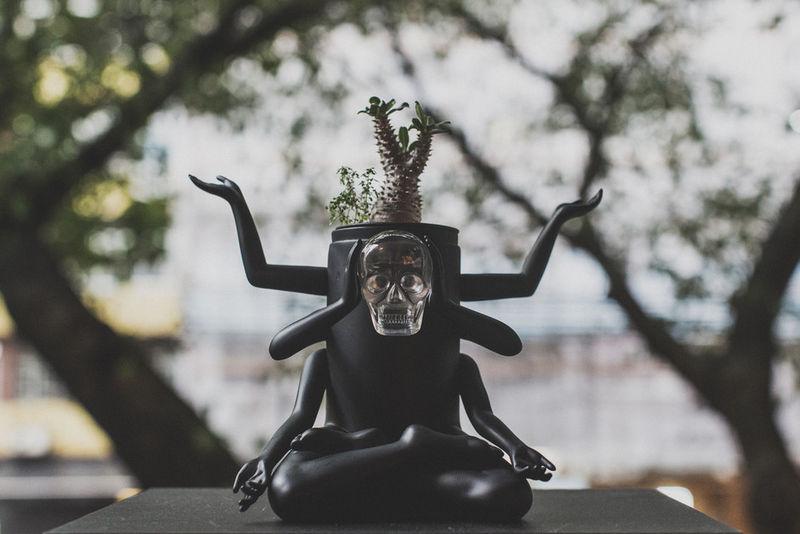 Hindu-Inspired Planters