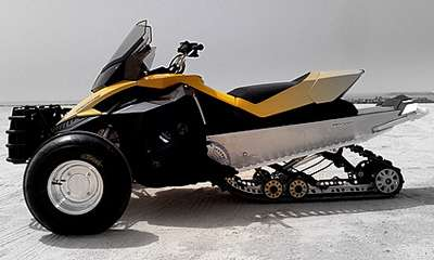 Cross-Season Snowmobiles
