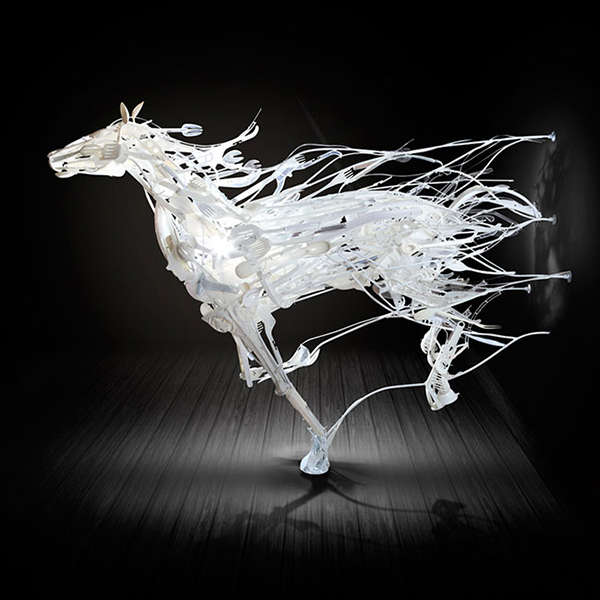 Enthralling Plastic Sculptures Art