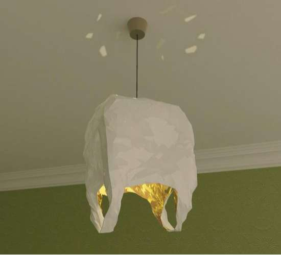Shopping Bag Chandeliers