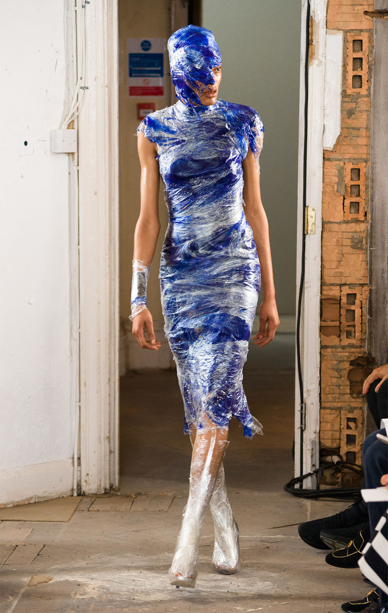 Cling-Film Dresses