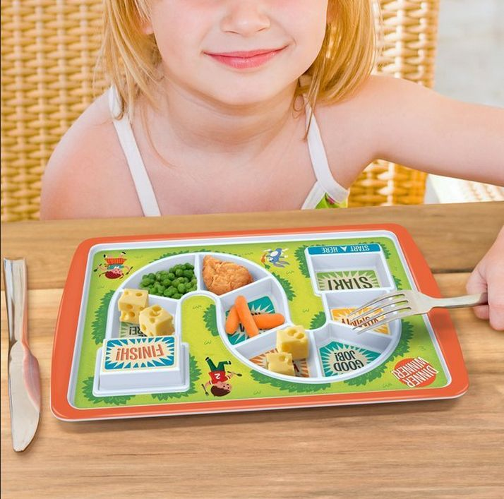 Gamified Tot Meal Plates