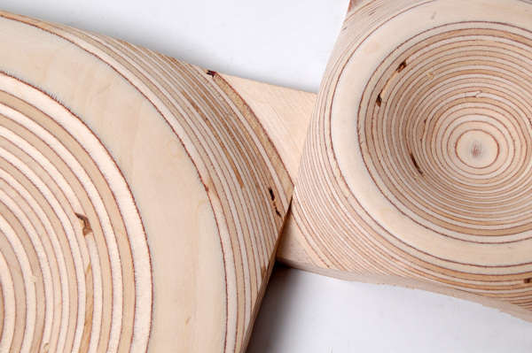 Dipped Wooden Dishes