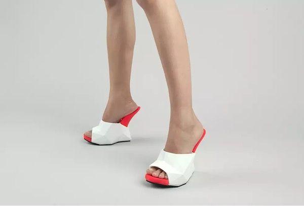 Heelless 3D Printed Footwear