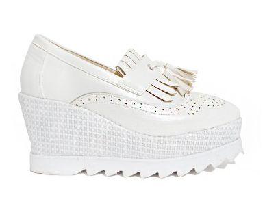 Tasseled Platform Loafers