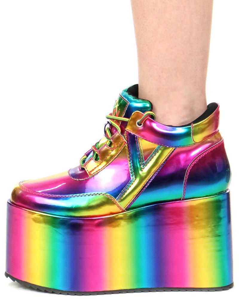 Galactic Platform Sneakers : Platform Sneaker