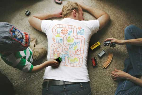 Playful Babysitting Shirts
