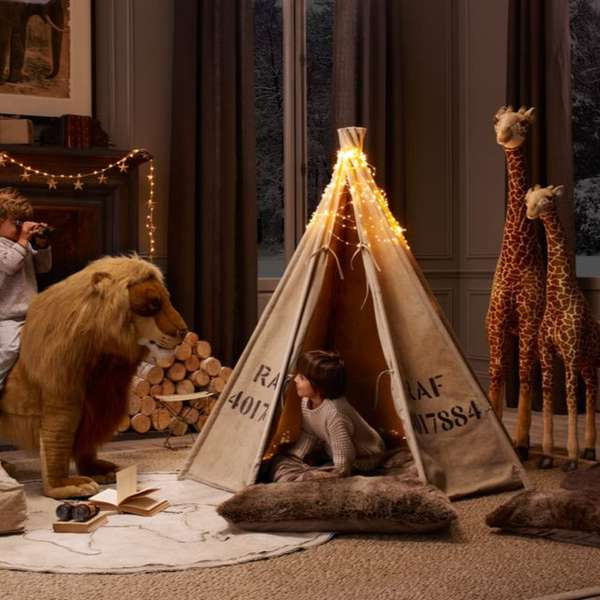Upcycled Play Tents