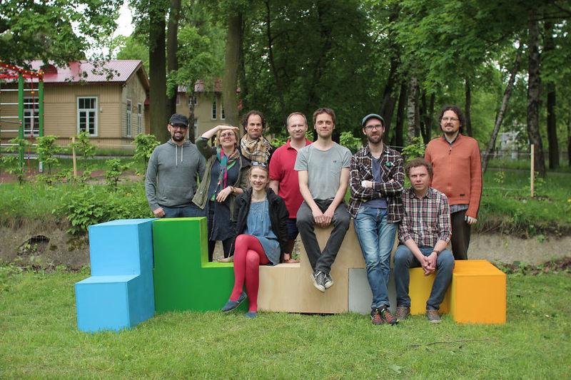 Outdoor Tetris Furniture