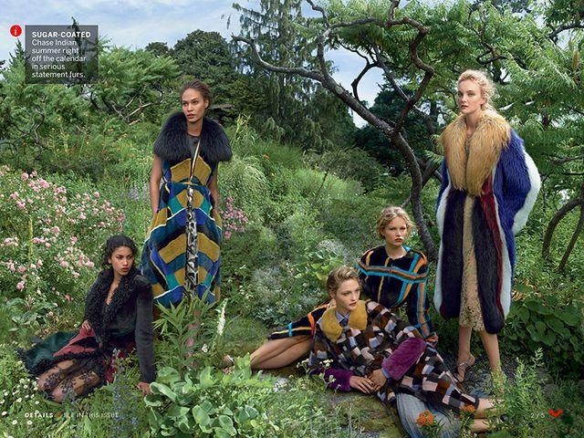 Stoic Supermodel Photoshoots