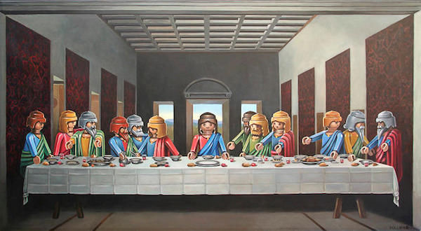 Toy-Filled Classical Paintings